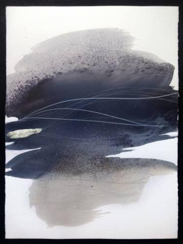 "Saatchi Art Artist Sabrina Garrasi; Painting, """"Starmap"" / Abstract Art - Watercolor on Cotton Paper"" #art"