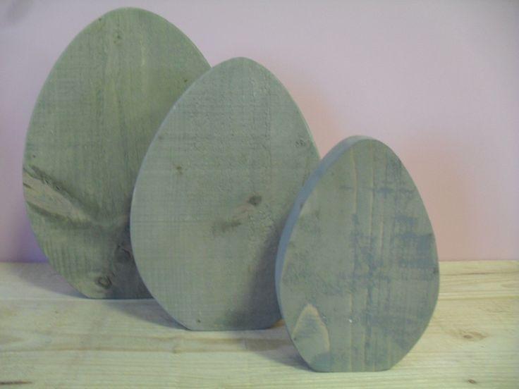 Steigerhouten eieren