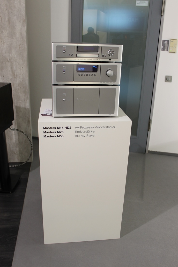 NAD Masters Series at Munich HIGH END 2013