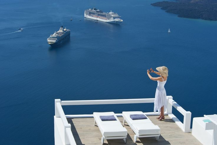 Waking up to this breathtaking view that fills you with energy and joy for the day! more at aquasuites.gr