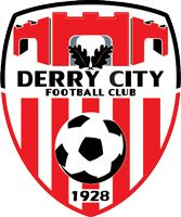 Derry City FC logo.png Full name 	Derry City Football Club Nickname(s) 	The Candystripes Founded 	1928 Ground 	Brandywell Stadium, Derry, Northern Ireland Capacity 	7,700 (2,900 seated) Owner 	Supporter owned Chairman 	Philip O'Doherty[1] Manager 	Peter Hutton League 	League of Ireland (Premier Division) 2014 	8th Website 	Club home page