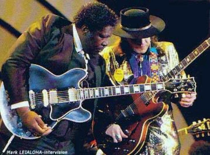BB KING & STEVIE RAY VAUGHAN