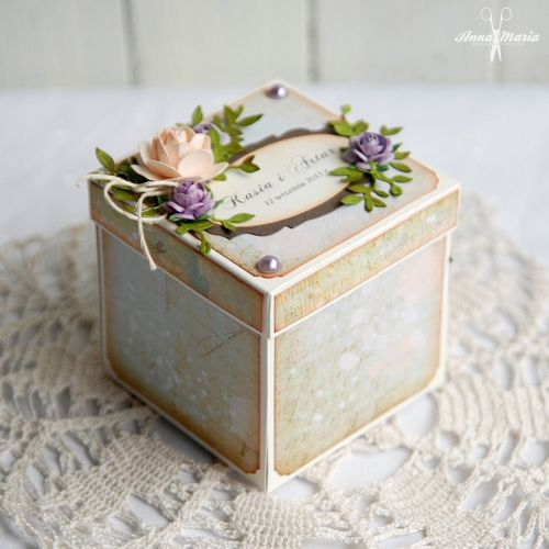 Kartka w formie pudełka