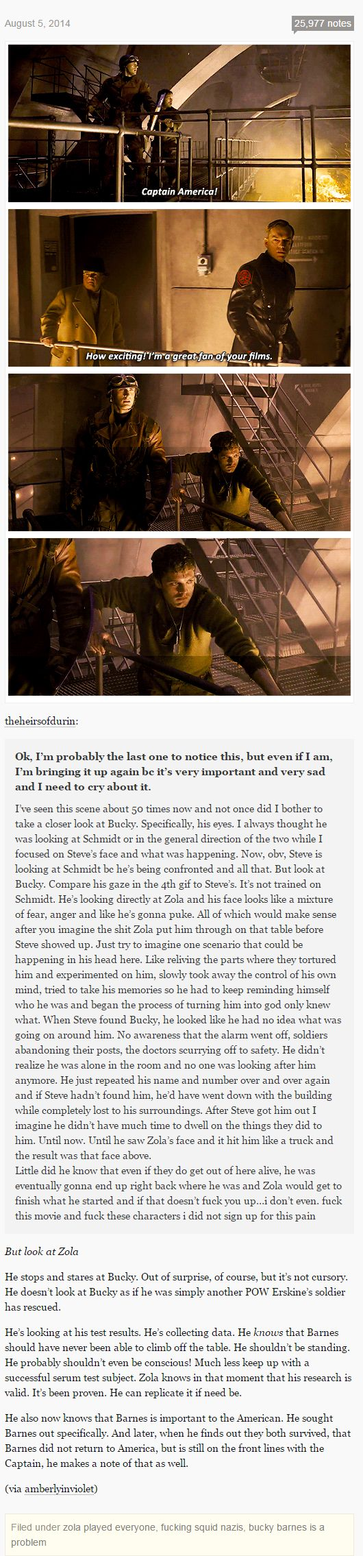 Bucky and Zola<<< I love the tags beneath this post