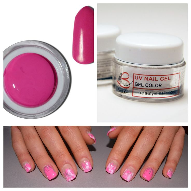Gel color baby pink, nail art, B In, http://www.beautyin-nails.com/product/gel-color/