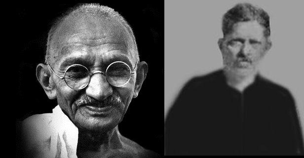 Gandhi & his Eldest Son Harilal