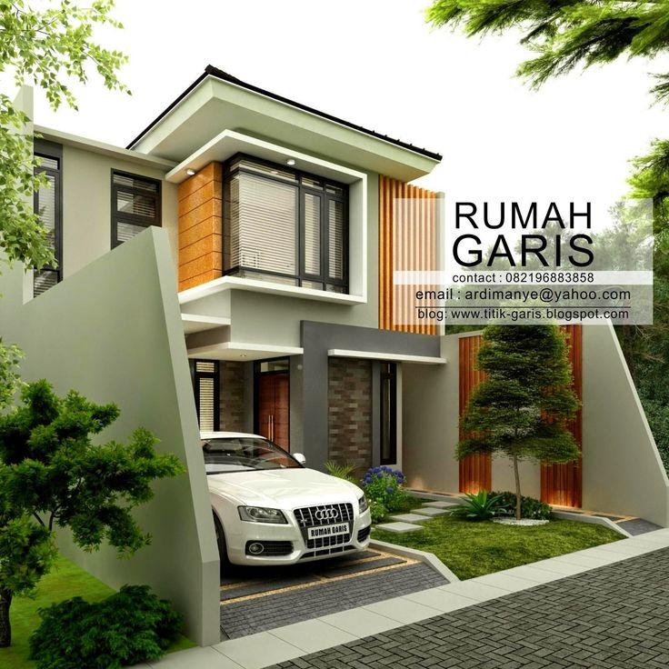 Desain Rumah Tinggal 2 lantai di Makassar