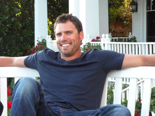 Joshua Morrow...plays Nick Newman on Y & R