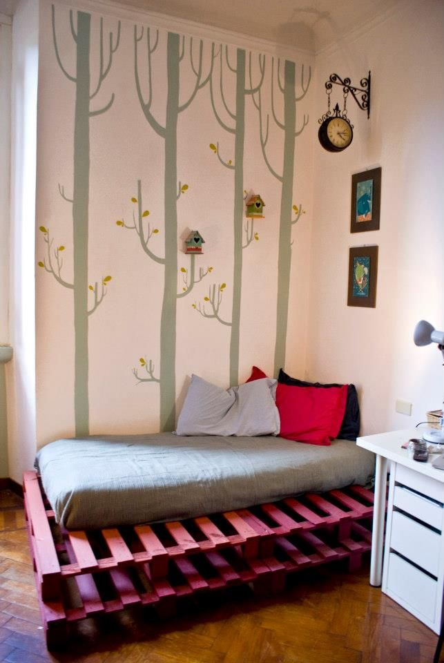 Trees in the room by Mondo • Mombo