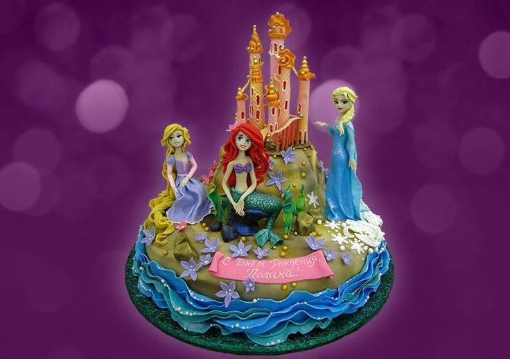 Коллекция искушений, Торт Принцессы Диснея, детский торт, торты для детей, торт для девочки, торт на день рождения #торт #детскийторт #тортдлядетей #тортдевочке #купитьторт #authorcake #тортпринцесса