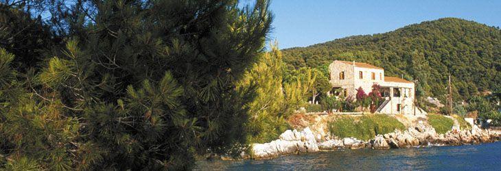 Atsitsa Bay Holidays, Skyros Island, Greece