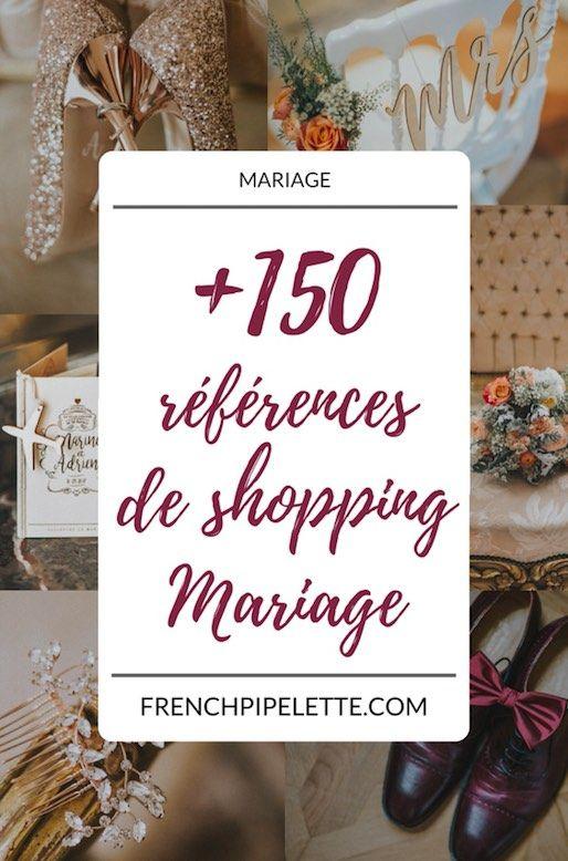 +150 références de magasinage de mariage: robes de mariée, chaussures, bijoux, te …