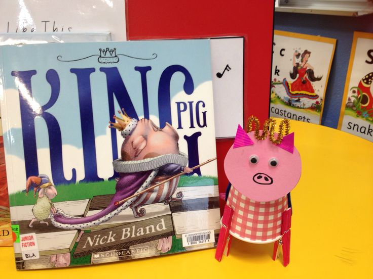 King Pig - Nick Bland art activity for Book Week