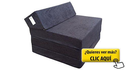 El sillón de colchón plegable para invitados con... #plegatin