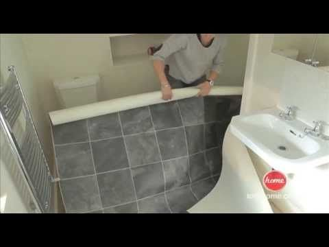 DIY: How to lay vinyl or lino flooring - YouTube