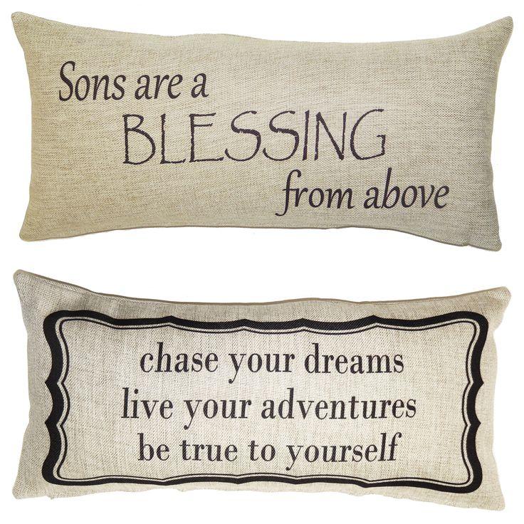 son gift, son pillow, new boy, baby boy, gift for son, boys room, boys bedding, boys signs, boys bed, son quotes, new son, boys college dorm