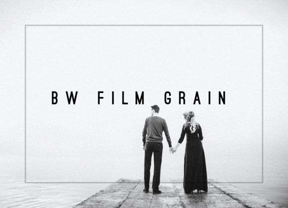 Black & White Film Grain LR Preset by LOU&MARKS on @creativemarket