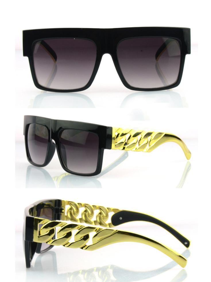 GSHGA Sonnenbrillen Für Männer Frauen Retro Metall Flip Sonnenbrille,Rosegoldframegraylens