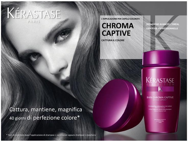 Sublimar el brillo espejo del cabello coloreado.Los primeros tratamientos de Kérastase que captan la luz para sublimar el brillo espejo del cabello coloreado. Cuando la tecnología se une a la belleza.