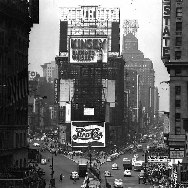 Nowy Jork, Times Square 1952 / fot. Getty Images