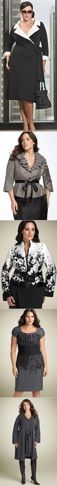 Мода и стиль для полных модниц 2