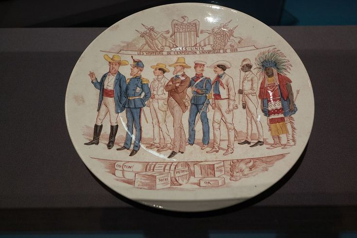 Commemorative plate 1889 World's Fair - Exposition Universelle (1889) - Wikipedia