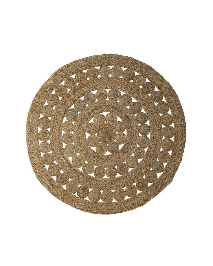 Round Jute Rug For The Home