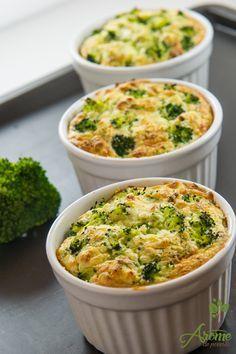 Sufleu de broccoli si conopida - Arome de poveste