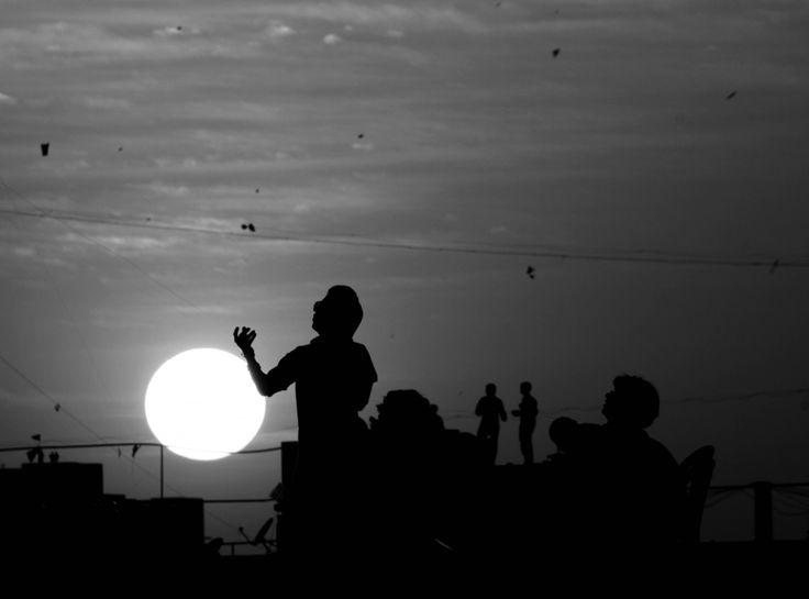 USP (Uttarayan Silhouette Photography) #makarsankrant #contest