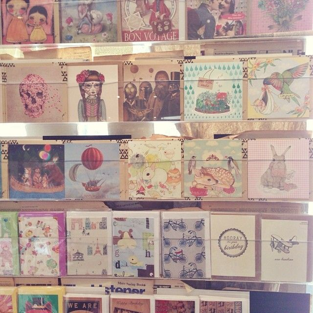 La La Land cards in Paper2, Surry Hills NSW. Photo by the wonderful Kirbee Lawler.