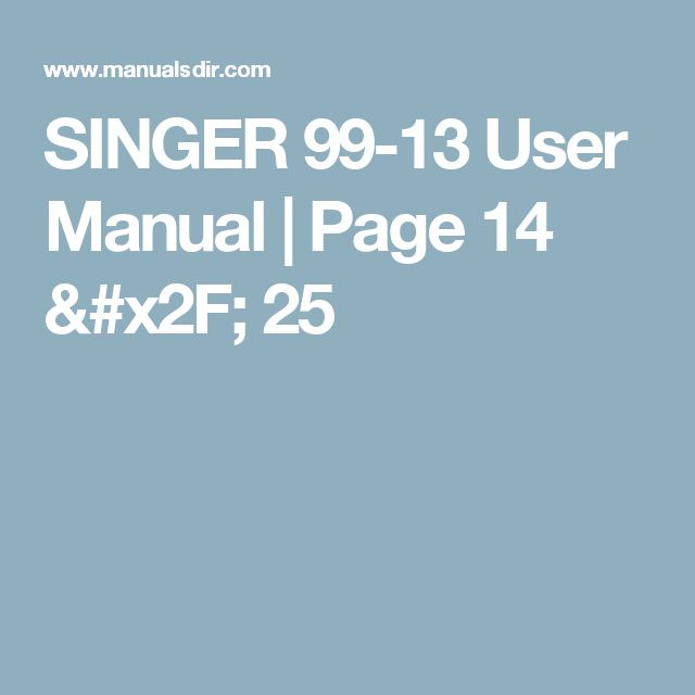 cc9687c32378d212e7fef07fcae74177 page manual 36 best singer model 99 13 1927 images on pinterest singers Singer Model 15 at gsmx.co