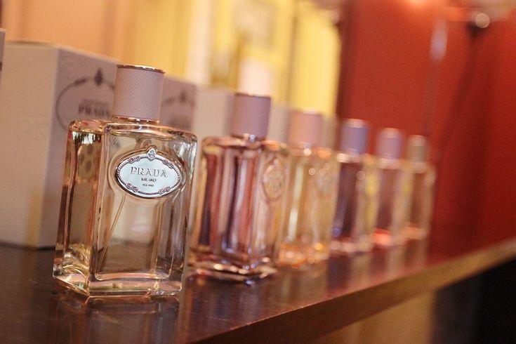 A nova coleção de perfumes da Prada (Foto: Reprodução)