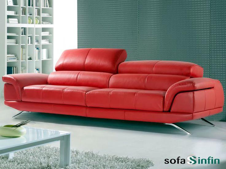 Sofá moderno de 3 y 2 plazas modelo Dior fabricado por Gamamobel en Sofassinfin.es