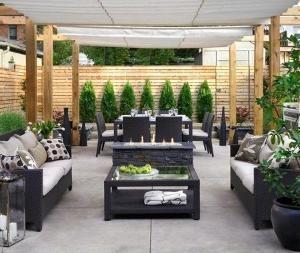 Backyard by arlene