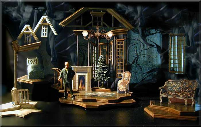 A Child's Christmas in Wales - Richard Finkelstein, Stage Designer