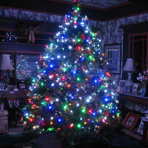 Karácsonyi izzósor két színben