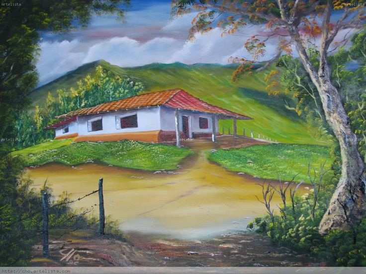 1741 best dibujos images on Pinterest  Costa rica Landscapes and