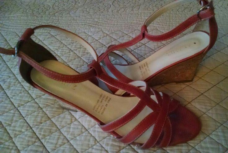 Sandalia color sandia