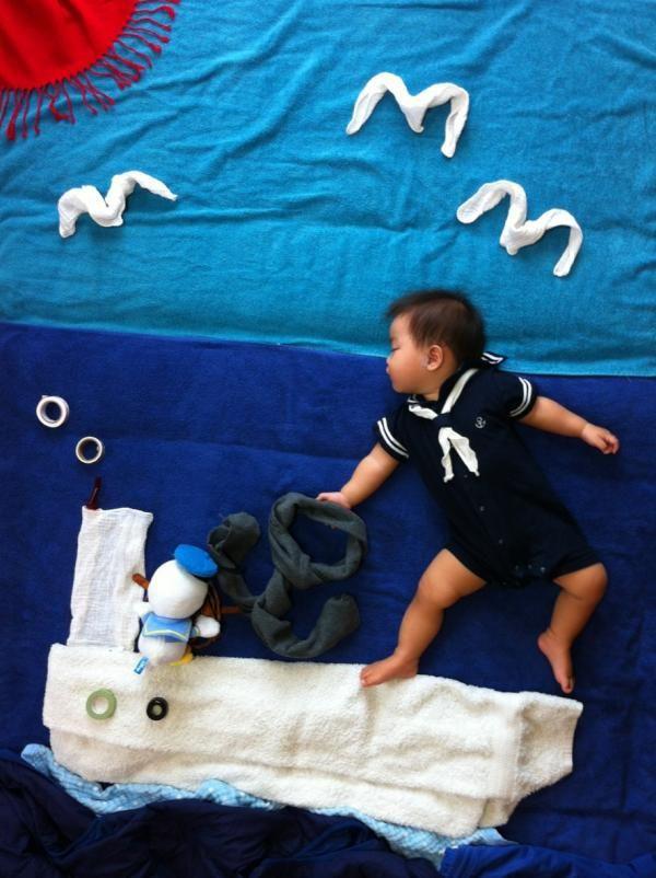 Japanese Babies Daydream Too! Creative Infant Art a la Mila's Daydreams Sweeps Japan | RocketNews24