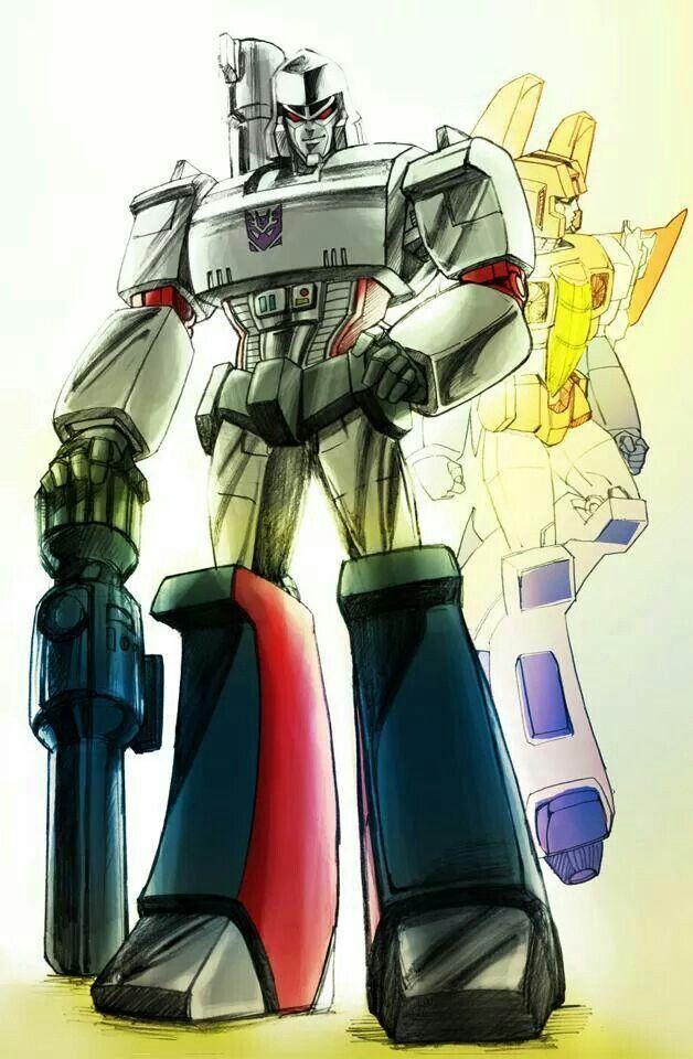 transformers megatron and starscream relationship