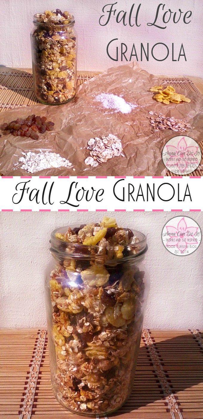 Fall Love Granola - Anna Can Do It!
