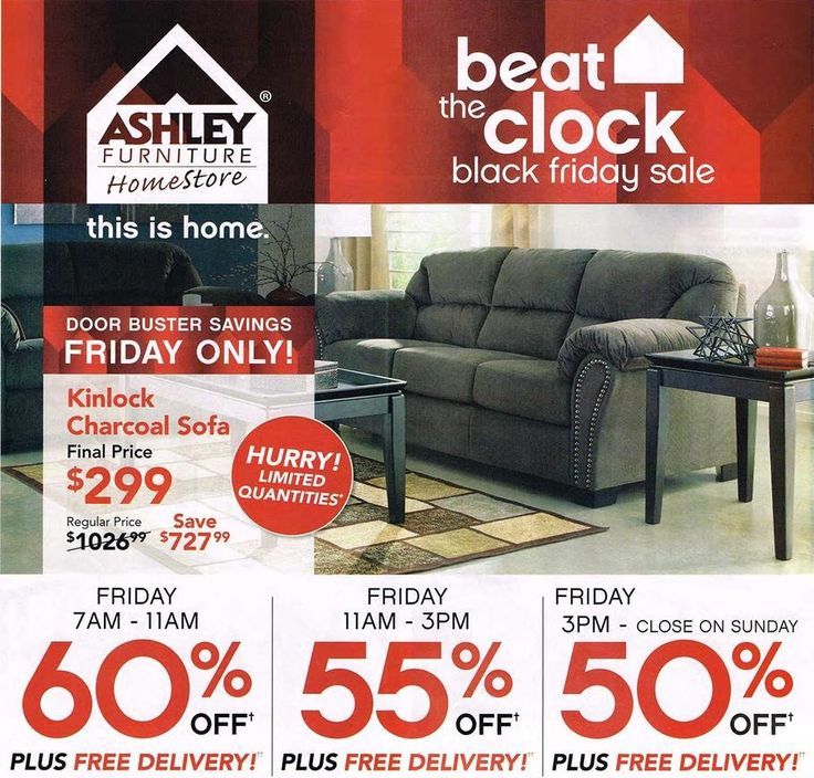 Ashley Furniture Homestore 2015 Black Friday Ad...check out the 4 page #BlackFriday ad.