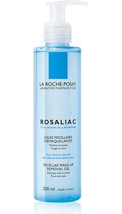 Alles over Rosaliac Demaquillerende Micellaire Gel, een product uit het assortiment Rosaliac van La Roche-Posay aanbevolen voor Rode  huid. Gratis advies van experts
