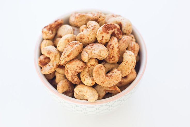 Saltede cashewnødder med paprika