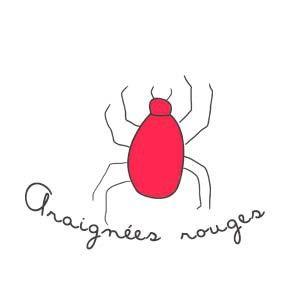 17 best ideas about araign e rouge on pinterest. Black Bedroom Furniture Sets. Home Design Ideas