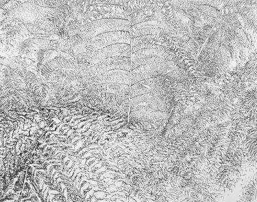 "Saatchi Art Artist Maria Westra; Drawing, ""GARDEN"" #art"