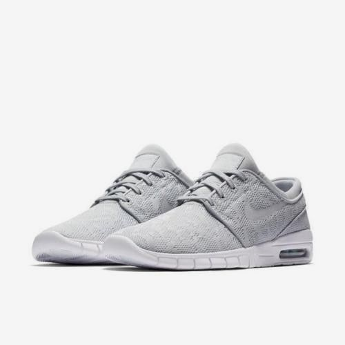 new arrivals 6cac4 68f10 Nike SB Stefan Janoski Air Max Skate Shoes Mens 10.5 Wolf Grey White  Nike   SkateShoes