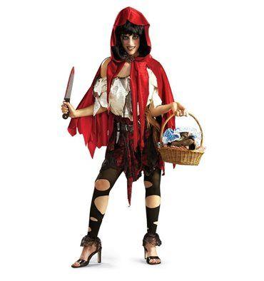 #Costume #Cappuccetto #Rosso #Assassino #Halloween