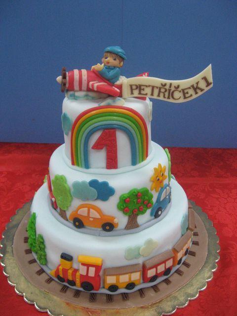 Dětské dorty pro kluky