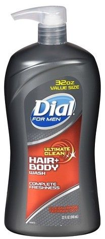 Dial for Men Ultimate Clean Hair plus Body Wash - 32 oz